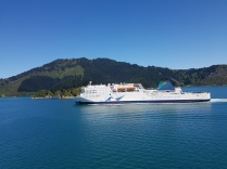 Passing the other ferry