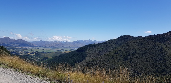 View from Mt. Isobel (Looking back to Hanmer Springs)