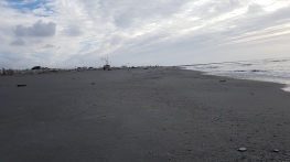 Hokitika main beach