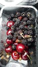 Adding to our cherry tub