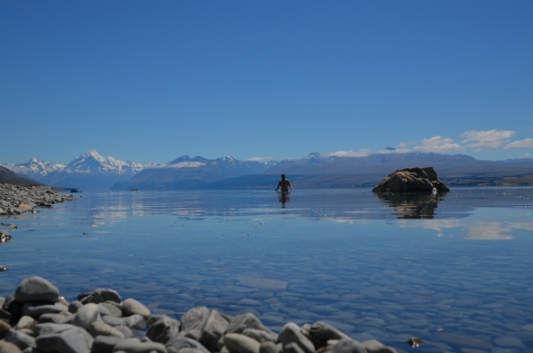 Kadin in the lake