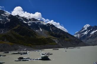 Hooker Lake - Melting Ice