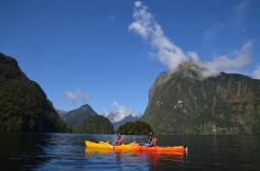 Our Double Kayak in the Sounds