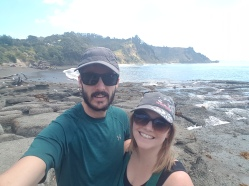 On the Rocks Selfie