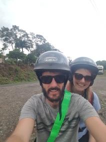 Scooter selfie