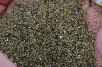 It's green sand
