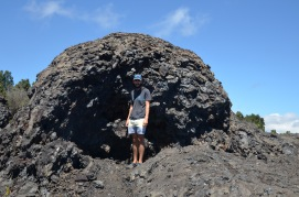 Awesome lava boulder