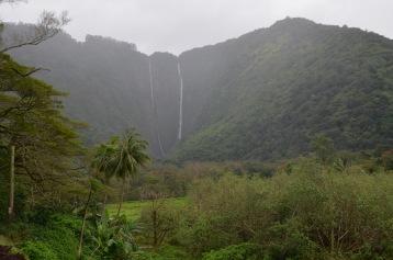 Tall waterfalls