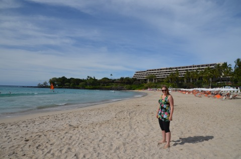 Pretending to live the resort life