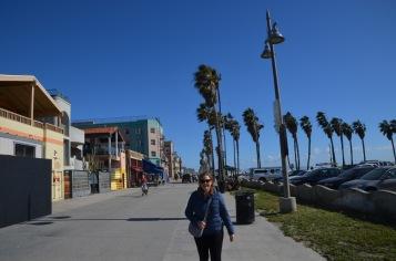 Start of Venice Beach Walk (before the people)