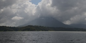 Volcano erupting clouds!