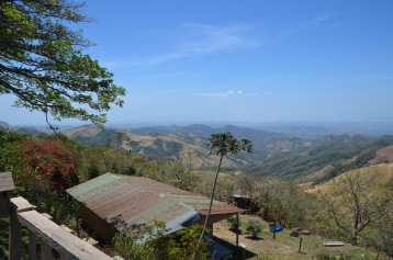 Cafe on the way to Monteverde