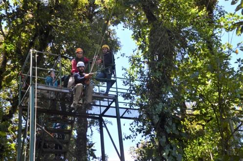 Tarzan jumping