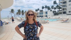Windy at the pool