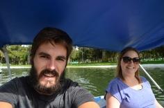 Paddle selfie