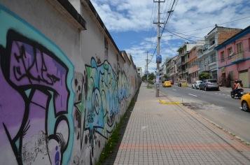 Street graffitti