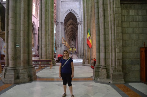Gemma in the Cathedral
