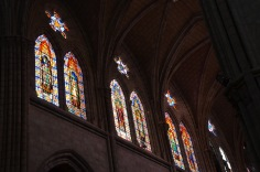 Beautiful stain-glass windows