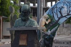 Charles Darwin Statues
