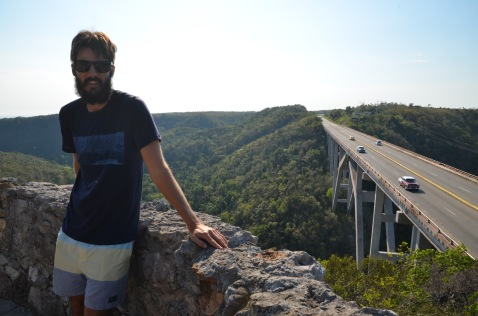 Kadin and Cuba's tallest bridge