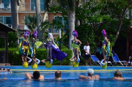 Pool ballet