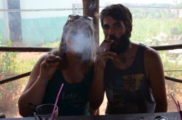 ...smoke out