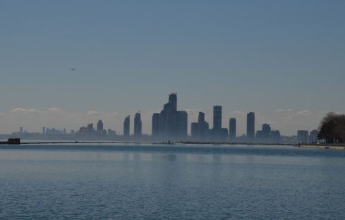 Hamilton across the Lake