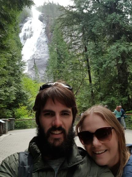 Shannon Falls selfie