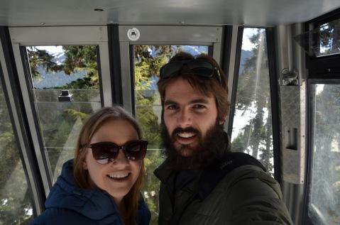 Gondola ride selfie