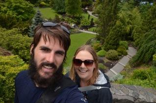 Quarry garden selfie
