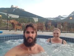 Hot tub selfie
