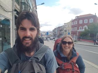Arriving Selfie