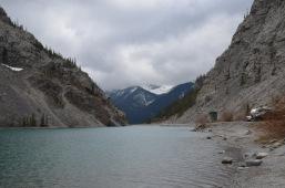 Long narrow lake