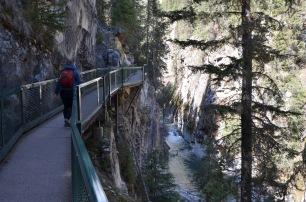 Walking the canyon walk