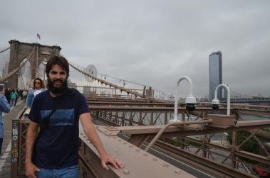 Kadin on Brooklyn Bridge