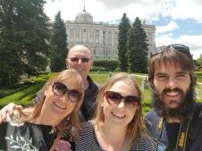 Palace garden selfie