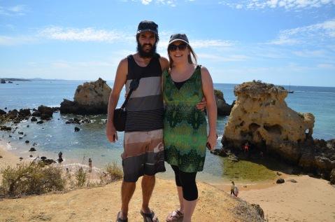Visiting Arrifes Beach