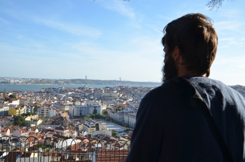 Kadin admiring the view