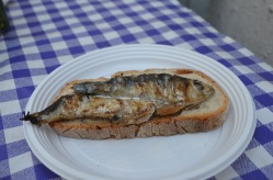 Our Sardine Sandwich
