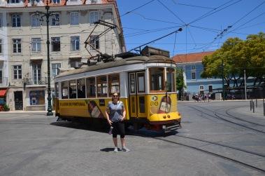 Gemma and the Libon Tram