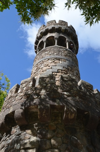 Kadin up the tower