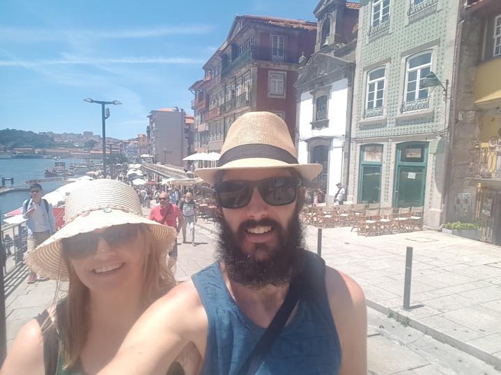 We bought hats Selfie