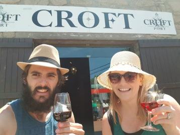 Croft Port Selfie