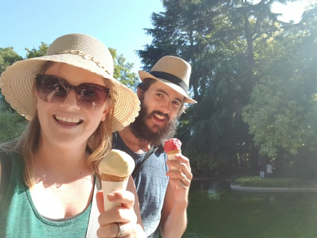 Ice Cream Selfie