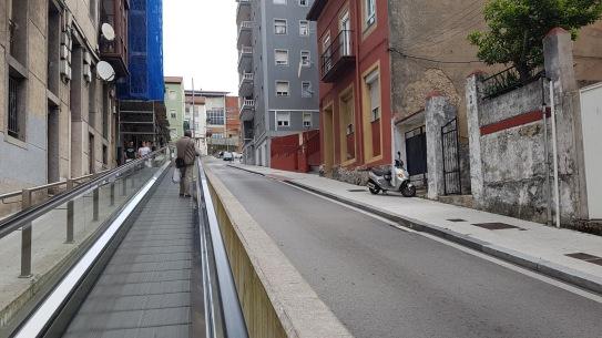 Modern footpath
