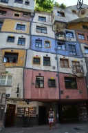 Kadin in Hundertwasser Village