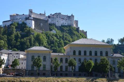 University and Palace above