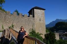 Castle wall walk