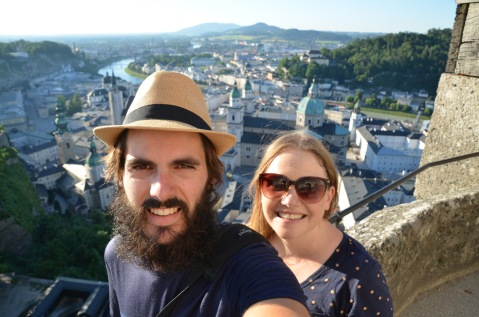 Castle View Selfie