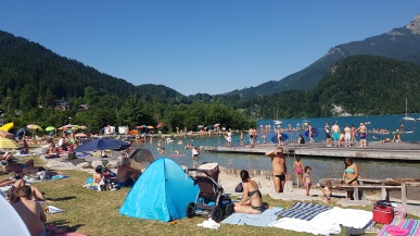 Busy lake too